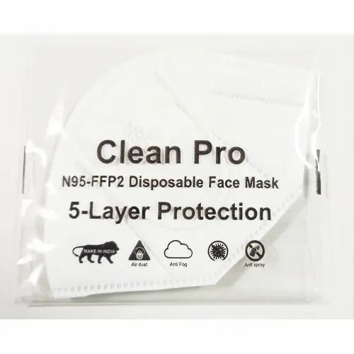 Clean Pro Disposable 5 Layer Protection Face Mask