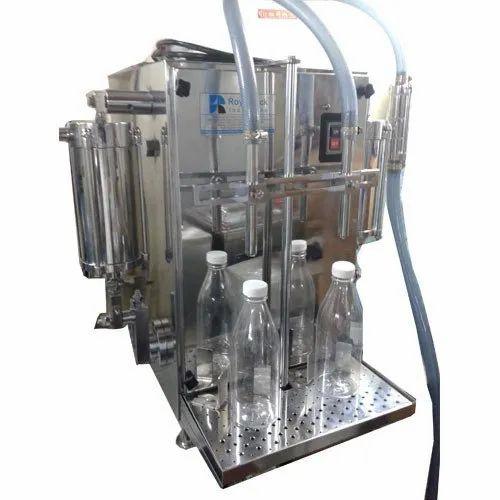 Semi- Automatic Liquid Filling Machine