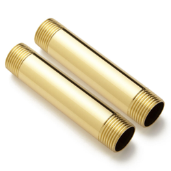 Brass Nipple With Two Side Thread Material