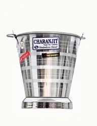 High Quality Stainless Steel Jointless Bucket/Akhand Balti