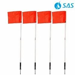 Football Spring Loaded Corner Flags (Set Of 4)