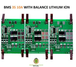 Bms 3s 10a With Balance Lithium Ion