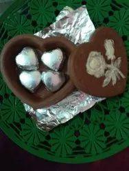 Dark Heart Gift Chocolate