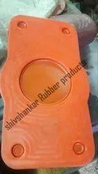 silicon gasket (Color : Orange)