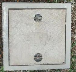 18x18 Inch Light Duty RCC Manhole Cover