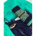 Embroidered Casual Unstitched Salwar Suit