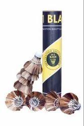 A1 Black Badminton Shuttlecock