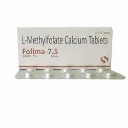 L-methylfolate Calcium Folima 7.5 Tablet