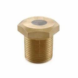 1063 One Piece Design Bronze Fusible Plug