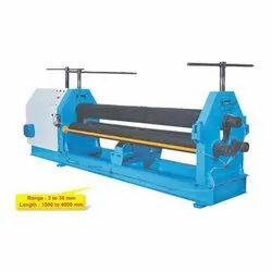 DI-160A 3 Roll Pyramid Type Mechanical Plate Bending Machine