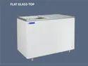 393 Litre Flat Glass Top Deep Freezer