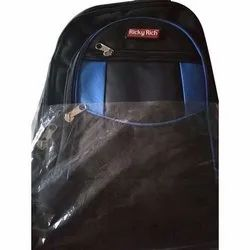 Rubber and Nylon Modern Trendy School Backpack, Size/Dimension: 13 X 18 Inch,14 X 20 Inch, Capacity: Upto 28 Kg