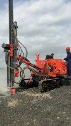 FMT 115HCD Hydraulic Crawler Drill