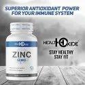 Health Oxide Zinc 50 mg (60 Tablets)