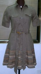 Short Length Cotton DRESS, 17-45