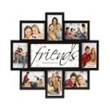 Synthetic Wood Friends Collage Photo Frame, For Gift Purpose, Size: 16x18 Inch