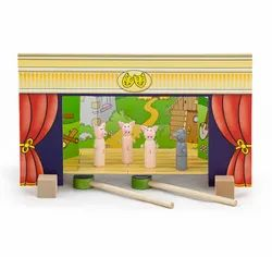 Magnetic Theater W/4 Stages Educational Toys
