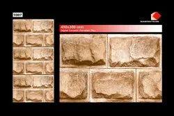Wall Cladding Tiles High Depth Elevation Tiles 300x450 Mm Exterior Tiles