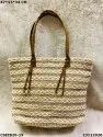 Designer Jute Cotton Handbag