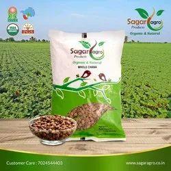 Sagar Agro 1 Kg Organic Whole Chana, Packaging Type: Bag