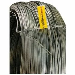 Shree Wiron 2 Mm Up To 4 Mm Hot Dipped GI Wire, 90 Up To 100 Kg Roll