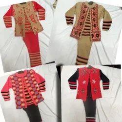 Girls Woolen Suit Bawa Suit