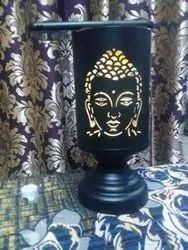 Table Lamps Antique METAL BUDHA DECORATIVE LAMP, For Home