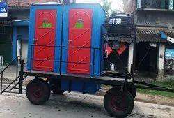 Two Seater Mobile Toilet