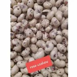 Fabbites Rose Flavor White Chocolate Coated Cashew Nut
