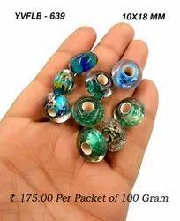 Mix Big Hole Glass Bead