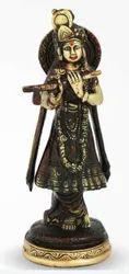 520 gm Brass Krishan Ji
