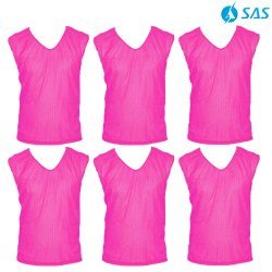Football Training Bibs - Pink