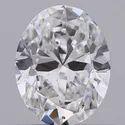 Oval Cut 0.50ct IGI Certified Diamond CVD D VS1 Lab Grown Type2A