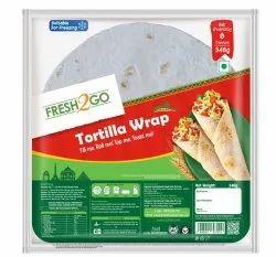 Fresh2Go Tortilla Wraps - Plain, 6 Pcs in 1 Packet