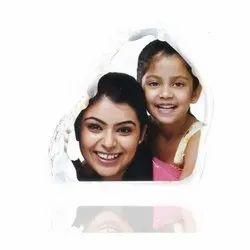 Family Crystal Photo Frame