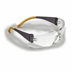 Yellow Casual Wear Uvex UEE 191 Scratch Proof Goggle