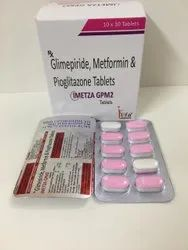 Glimepiride 2mg,Metformin 500mg And Pioglitazone 15mg Sustained Release  Tablet
