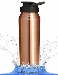 Copper Water Sipper Bottle