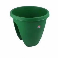 Small Reeva Railing Pot-12 Semi