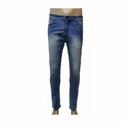 Men Pencil Fit Denim Jeans
