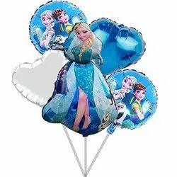 Foil Balloon Set For Birthday Theme Party