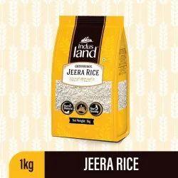 Indus Land Gobindbhog Jeera Rice, Packaging Size: 1 Kg