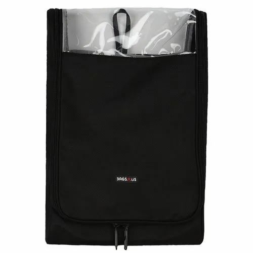 BagsRUs Large Black Polyester Zipper Packing Shirt Cover With Free Folding Board