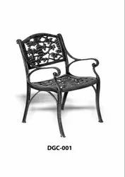 Polished CAST IRON CHAIR, For Outdoor