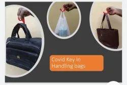 Covid Key In Handling Bags