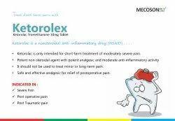 Ketorolac Tromethamine 10mg Tablet