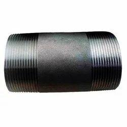 2 inch MS MILD STEEL BARREL NIPPLE, For Plumbing Pipe