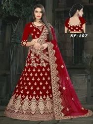 Ethnic Embroidered Fancy Bridal Lehenga Choli