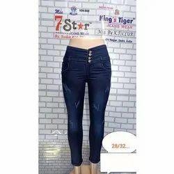 Slim Fit Women Denim Jeans