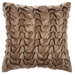Golden Handmade Cushion Cover